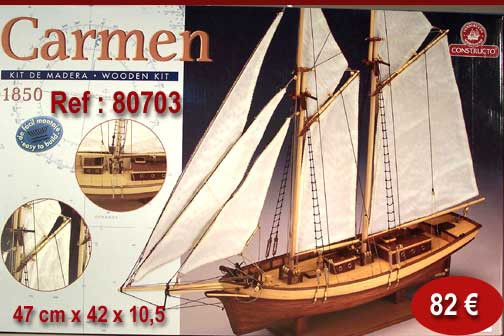 Maquettes bateaux for Construire le belem